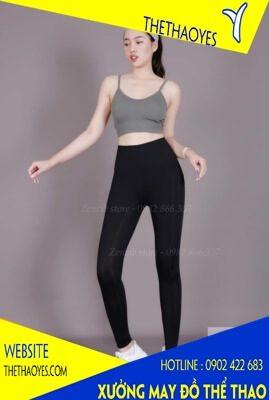 quần legging áo dây thể thao nữ