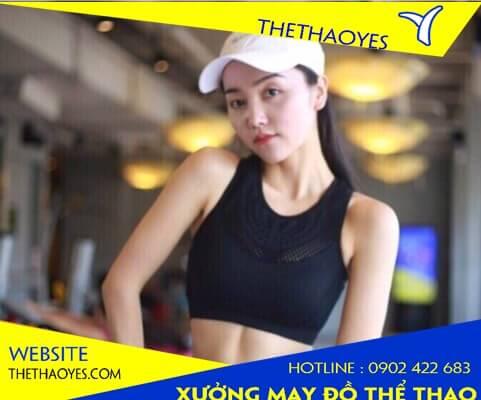 áo thể thao Đà Nẵng tập gym nữ croptop