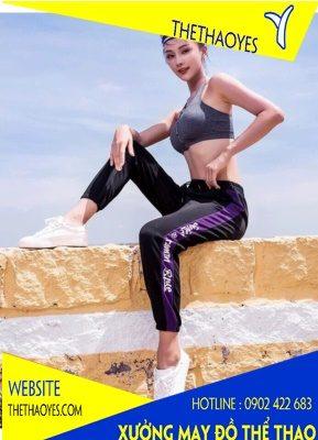 Bộ thể thao tập gym nữ quần dài