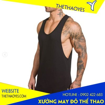 may áo tank top nam