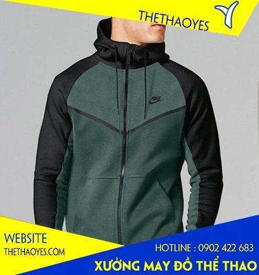 các mẫu áo khoác thể thao nam tphcm