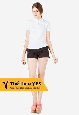 áo phông có cổ nữ mặc với quần gì