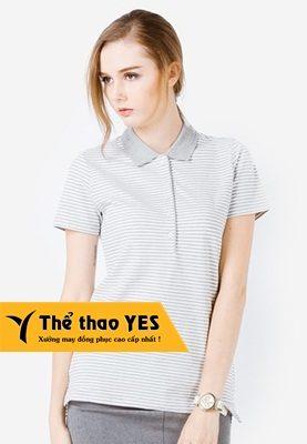 áo phông có cổ nữ lacoste