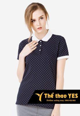áo phông có cổ cho nữ