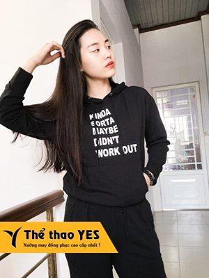 may áo thể thao tay dài nữ tại YES