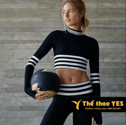 quần áo thể thao dài tay nữ