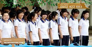 May áo thun đồng phục học sinh