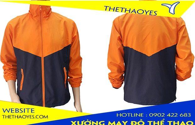 áo khoác đồng phục thể thao
