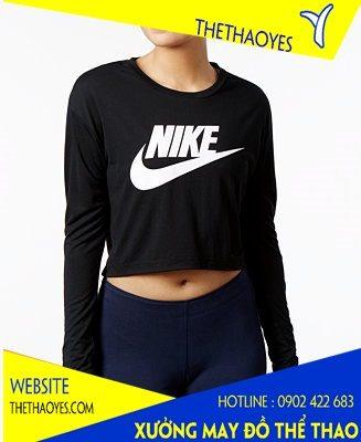 áo thun Nike crop top