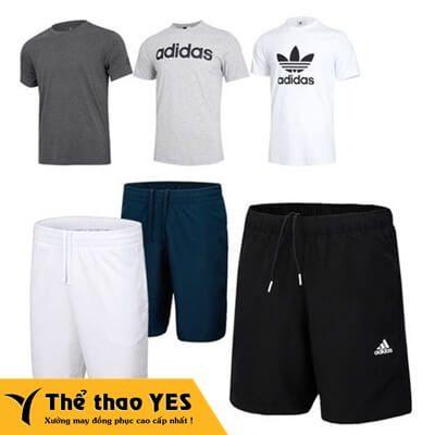 quần áo thể thao nam adidas
