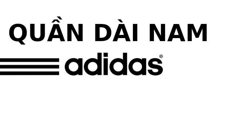 May quần dài adidas nam