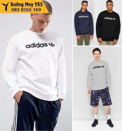 áo thun tay dài nam adidas