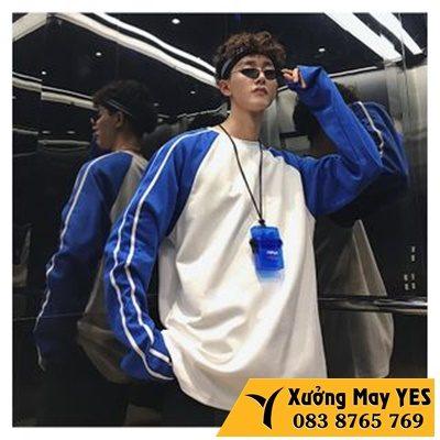 áo thun cổ tròn Hàn Quốc