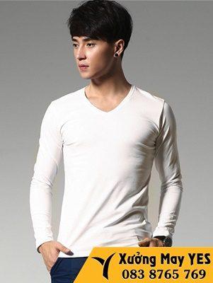 áo thun dài tay nam