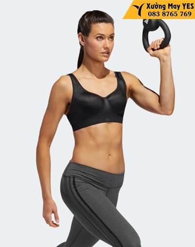 may áo ngực thể thao adidas
