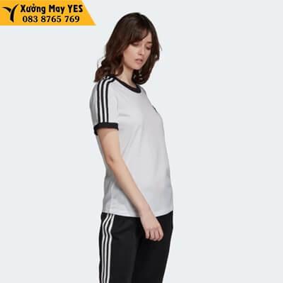 xưởng may bộ quần áo adidas