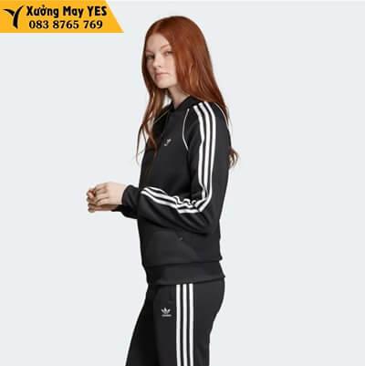 bộ quần áo adidas đen