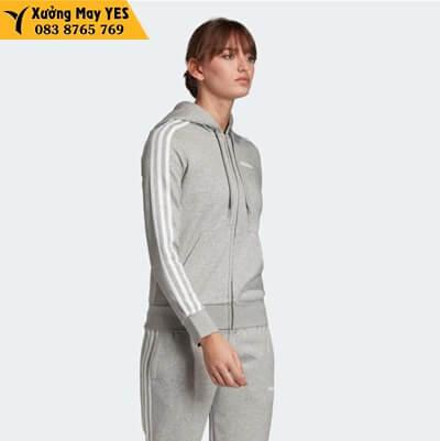 Bộ quần áo thể thao xám