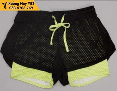 quần short thun nữ thể thao chất lượng