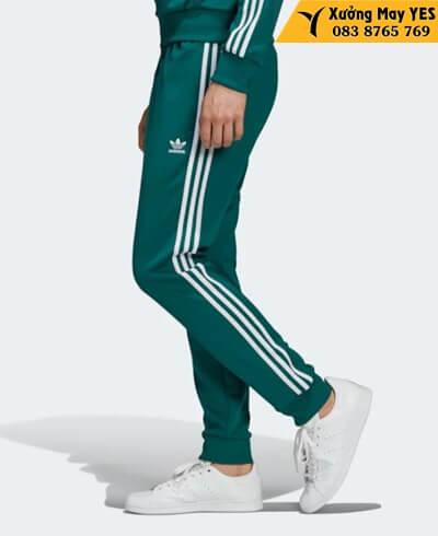 xưởng may quần dài adidas nam