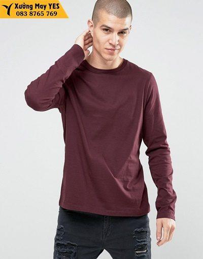 áo thun tay dài nam cao cấp