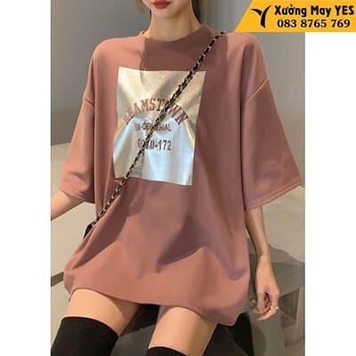 may áo thun free size nữ rẻ