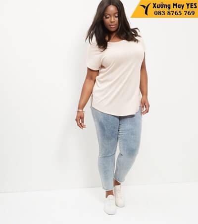 may áo thun free size nữ