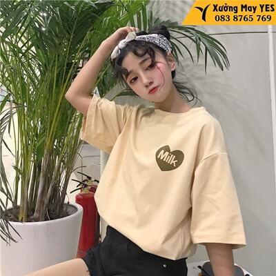 may áo phông free size nữ cao cấp