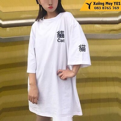 may áo phông free size nữ chính hãng