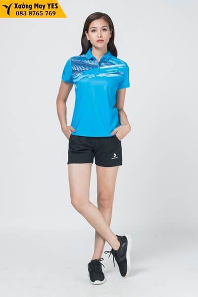 may áo thể thao nữ