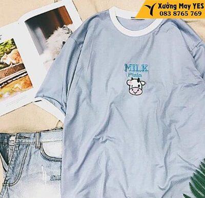 xưởng may áo thun free size nữ rẻ