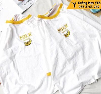 xưởng may áo thun free size nữ