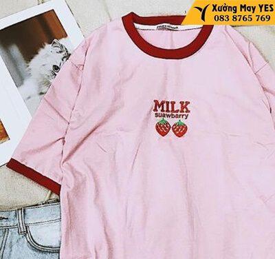 xưởng may áo thun free size nữ quận 12