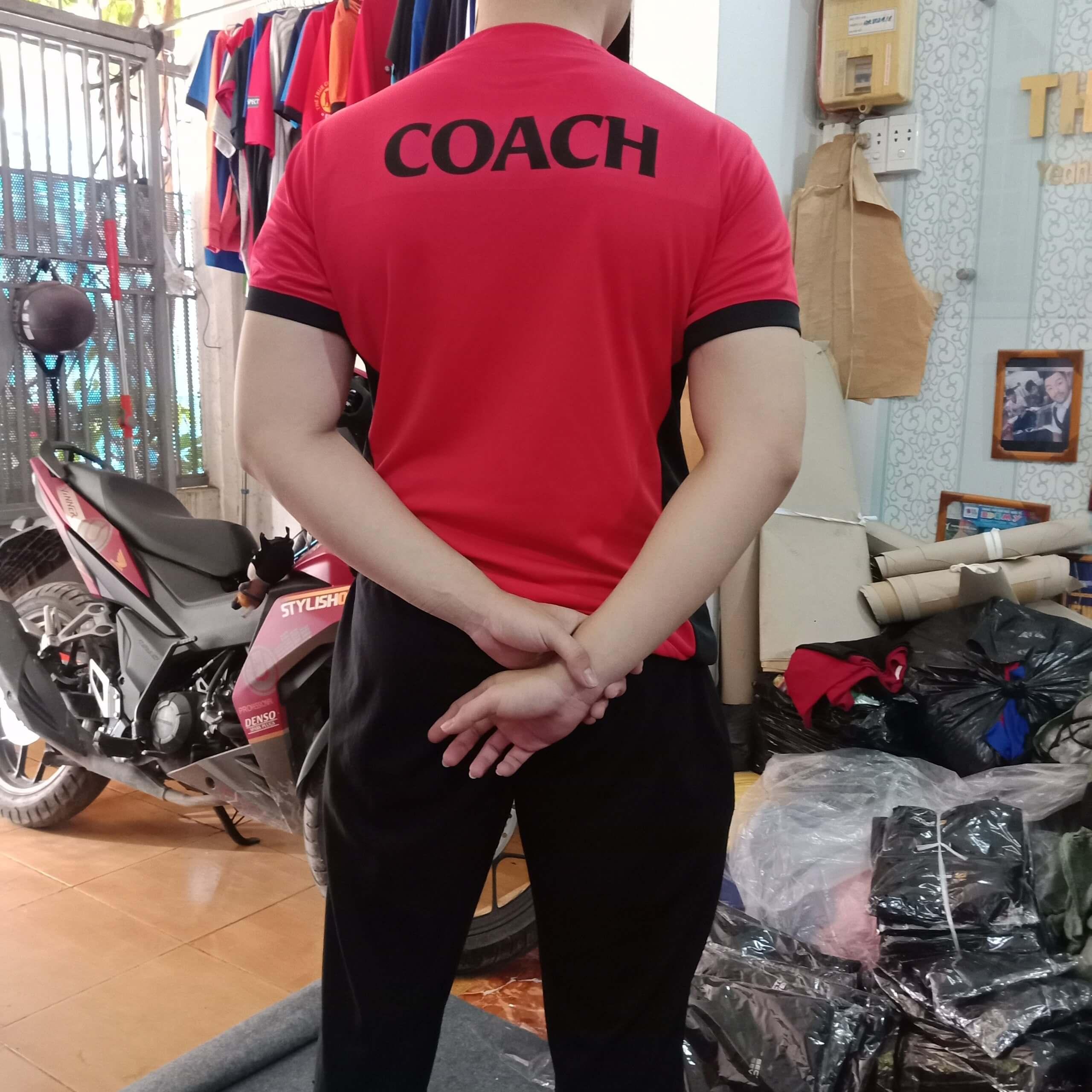 áo huấn luyện viên thể thao