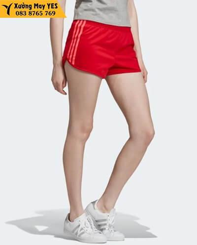 may quần short thể thao nữ adidas rẻ