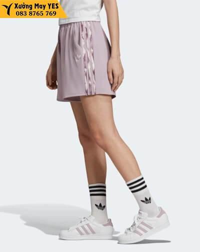 may quần short thể thao nữ adidas chính hãng