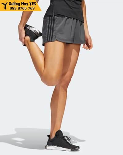 xưởng may quần short thể thao nữ adidas cao cấp