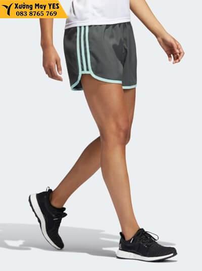 xưởng may quần short thể thao nữ adidas quận 12