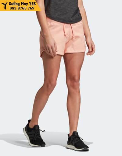 may quần short thể thao nữ adidas