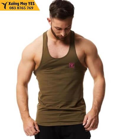 may áo tank top nam gym chất lượng