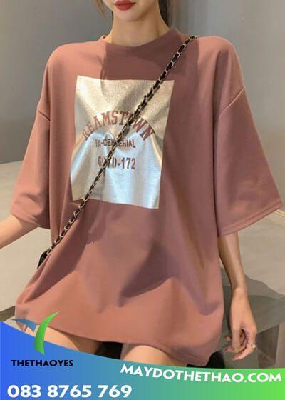 mua áo thun nữ form rộng
