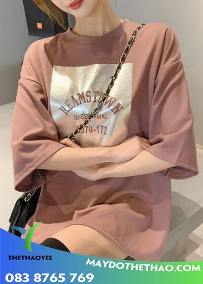 áo phông form rộng nữ giá rẻ