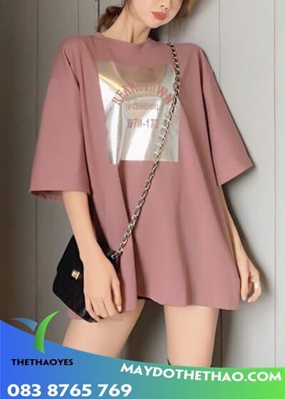 áo phông nữ form rộng đẹp