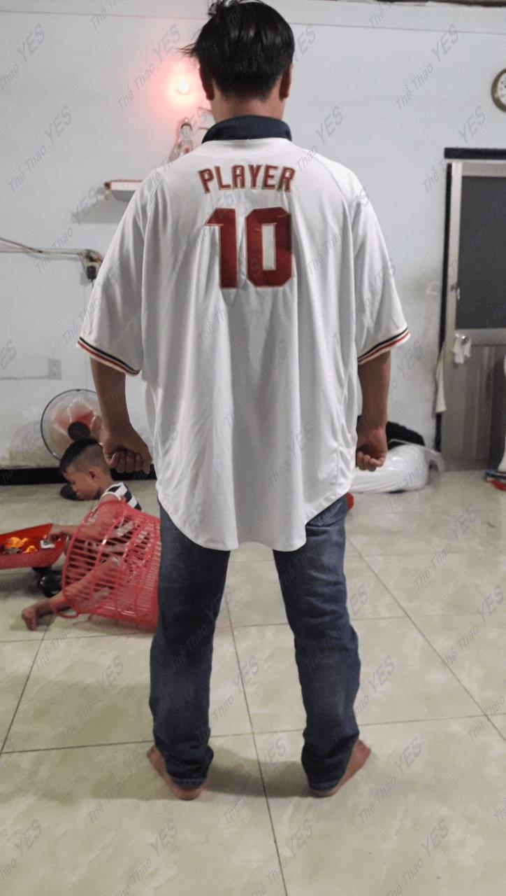 áo thun thi đấu bóng chày