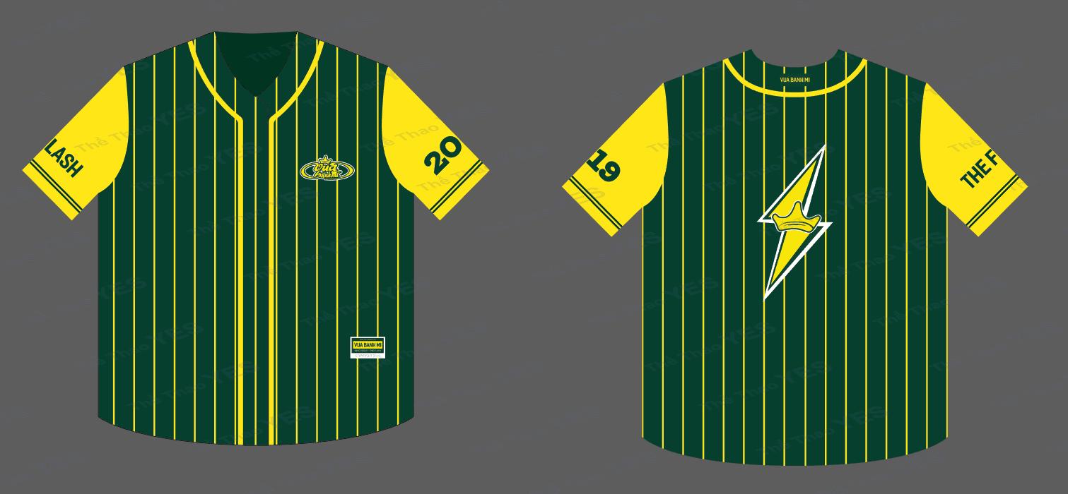 đồng phục bóng chày