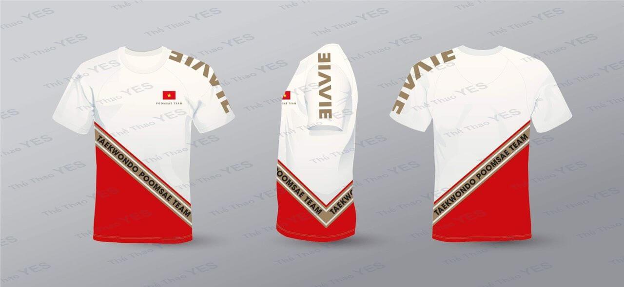 đồng phục võ thuật taekwondo