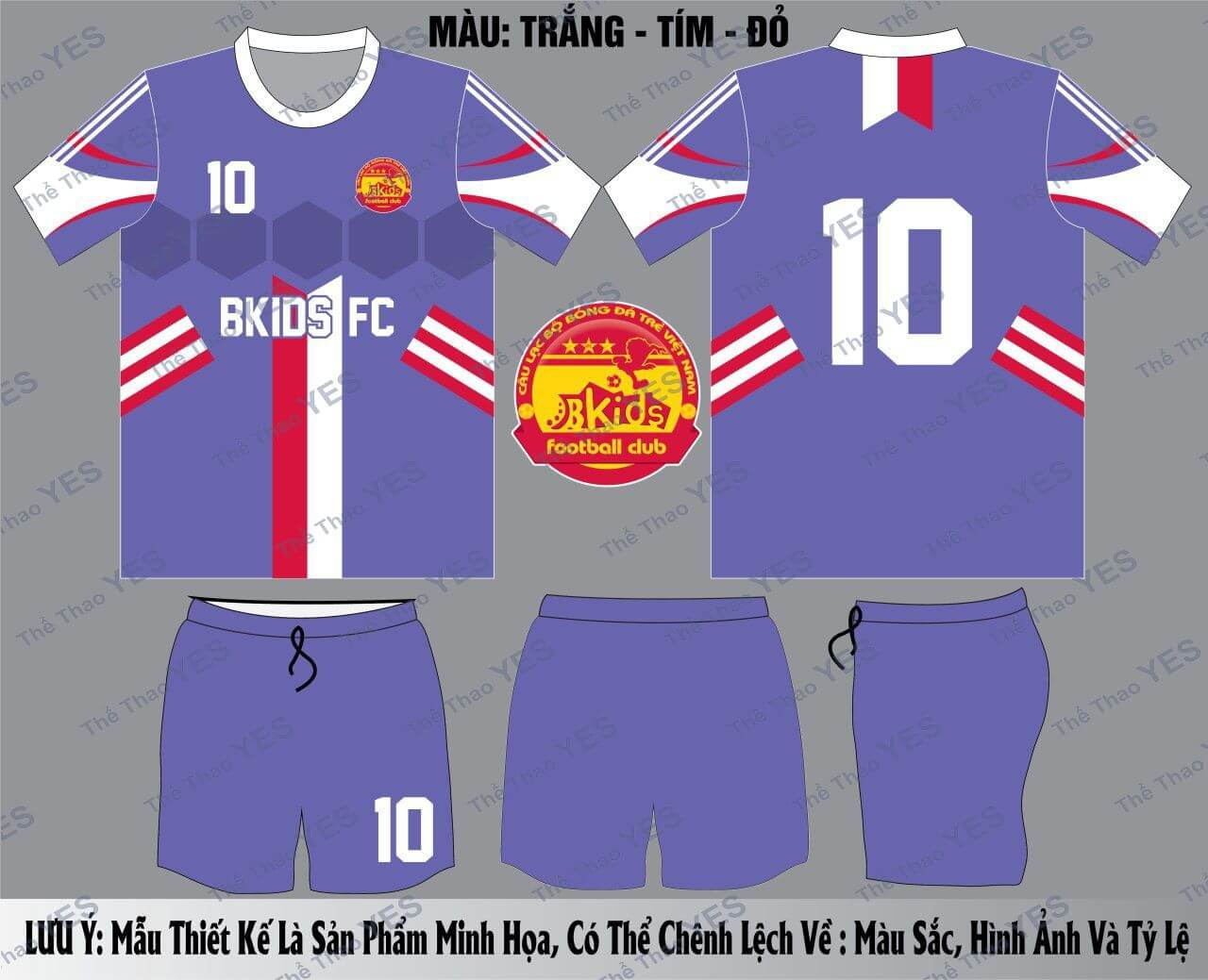 may áo thun bóng đá