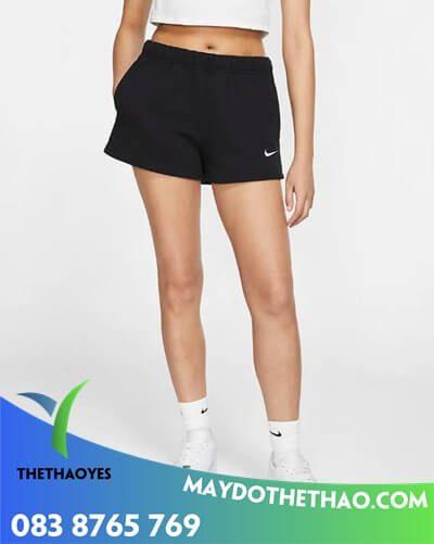 xưởng may quần thể thao nữ ngắn rẻ