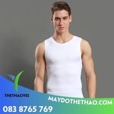 xưởng may áo ba lỗ nam trắng cao cấp