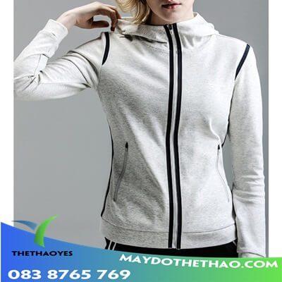 áo khoác da thể thao nữ